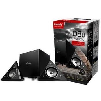 Bose 2.1 Kworld Dark Pyramid D8u 8W Black DP0806u