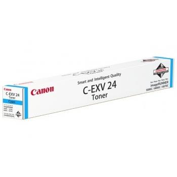 Cartus Toner Canon C-EXV24 Cyan 9500 Pagini for IR 5800C, IR 5870C, IR 6800C, IR 6880C, IR 6880CI CF2448B002AA