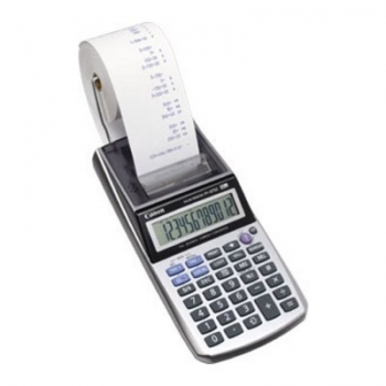 Calculator profesional cu rola Canon P 1-DTSC CP 12 Digit 1 Colour Conversie Valuta/Taxe/Business BE2494B002AA