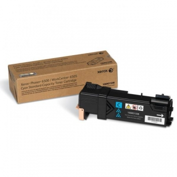 Cartus Toner Xerox 106R01598 Cyan 1000 pagini for Phaser 6500, WorkCentre 6505
