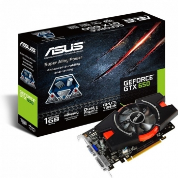 Placa video Asus nVidia GeForce GTX 650 2GB GDDR5 128bit PCI-E x16 3.0 HDMI DVI VGA GTX650-E-2GD5
