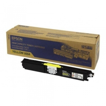 Cartus Toner Epson C13S050554 Yellow 2700 Pagini for Aculaser C1600, CX16, CX16DNF, CX16DTNF, CX16NF