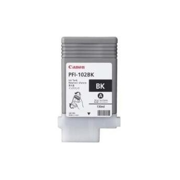 Pigment Ink Tank Canon PFI-102MB Matte Black 130 ml for LP17, LP24, iPF500, iPF6X0, iPF7X0 CF0894B001AA