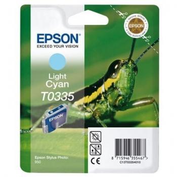 Cartus Cerneala Epson T0335 Light Cyan 440 Pagini for Stylus Photo 950 C13T03354010