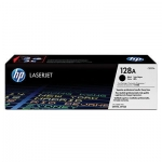Cartus Toner HP Nr. 128A Black 2000 Pagini for Color LaserJet CM1415NF MFP, CM1415NFW MFP, CP1525N, CP1525NW CE320A
