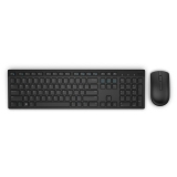 Dell KM636 Wireless Keyboard and Mouse, US International (QWERTY), Black 580-ADFT
