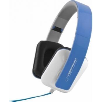 Casti Esperanza EH137B Blue cu control volum 5901299903681