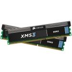 Memorie RAM Corsair XMS3 KIT 2x4GB DDR3 1600MHz CL9 MX8GX3M2A1600C9