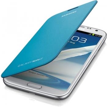 Husa Samsung pentru N7100 Galaxy Note II Blue EFC-1J9FBE