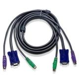 Cablu KVM CL CL-KVM2 PS/2+ Monitor 2m