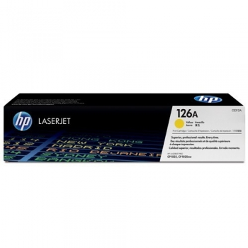 Cartus Toner HP Nr. 126A Yellow 1000 Pagini for LaserJet Pro CP1025, LaserJet Pro CP1025NW CE312A