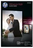 Hartie Foto HP CR677A Premium Plus Glossy Dimensiune 4x6 inch, 10x15 cm Numar Coli 25