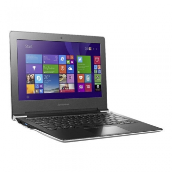 "Laptop Lenovo IdeaPad S21E-20, 11.6"" HD (1366x768), antireflexie, LED-Backlight, Intel Celeron N2840 (2.16Ghz, upt to 2.58Ghz, 1600Mhz, 1MB), video integrat Intel HD, RAM 2GB DDR3 1600Mhz (1x2GB), SSD 64GB, no ODD, Card Reader 4-1, boxe stereo 2*1W,"