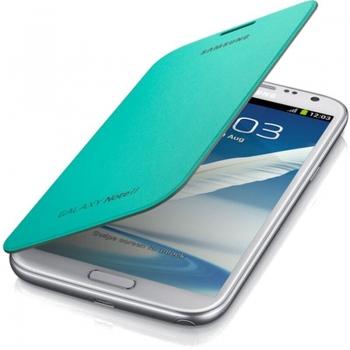 Husa Samsung Flip Cover pentru N7100 Galaxy Note II Mentol Green EFC-1J9FMEGSTD