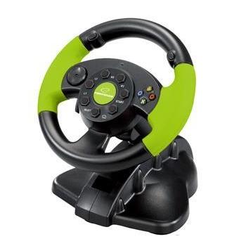 ESPERANZA Stering Wheel PC/PS3/XBOX EG104 HIGH OCTANE XBOX 360 EG104 - 5905784769301