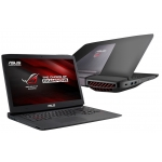 "Laptop Asus ROG G751JT-T7209D Intel Core i7 Haswell 4720HQ up to 3.6GHz 8GB DDR3 HDD 1TB nVidia GeForce GTX 970M 3GB 17.3"" Full HD"