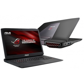 "Laptop Asus ROG G751JT-T7210D Intel Core i7 Haswell 4710HQ up to 3.5GHz 8GB DDR3 HDD 1TB nVidia GeForce GTX 970M 3GB 17.3"" Full HD"