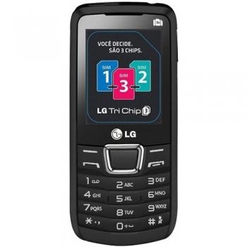 Telefon Mobil LG A290 Black Triple-Sim LGA290BLK