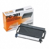 Ribon Brother PC301 Black for FAX 750, FAX 770, FAX 870MC, FAX 910, FAX 920, FAX 930, FAX 940, Intellifax 750, 770, 775, 870MC, 885MC