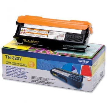 Cartus Toner Brother TN320Y Yellow 1500 Pagini for DCP-9055CDN, HL-4140CDN, HL-4150CDN, MFC-9460CDN