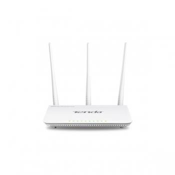 Router 3 Port-uri Wireless N 300Mbps. High Power, 3 antene det. (3*5dBi), TENDA