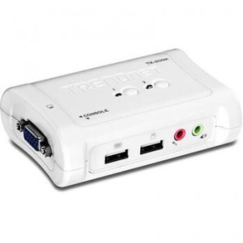 Switch KVM TRENDnet TK-209K 2 Porturi USB + 2 Porturi miniUSB