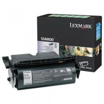Cartus Toner Lexmark 12A6830 Black Return Program 7500 pagini for T520, T520N, T522, T522DN, T522N