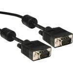Cablu VGA Gembird CC-PPVGA-10M-B Dubluecranat Male - Male 10m