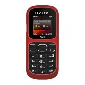 Telefon Mobil Alcatel One Touch 217D Deep Red Dual Sim ALC217RED