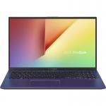 Laptop ASUS 15.6'' VivoBook 15 X512DA-EJ172, FHD, Procesor AMD Ryzen™ 5 3500U (4M Cache, up to 3.70 GHz), 8GB DDR4, 512GB SSD, Radeon Vega 8, No OS, Peacock Blue