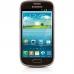 Telefon Mobil Samsung Galaxy S3 Mini i8190 Amber Brown Cortex A9 Dual Core 1.0GHz 8GB Android 4.1 Husa Protectie SI8190B+EFC-1M7BWEGSTD