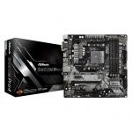 ASROCK B450M PRO4 ASRock B450M PRO4, AM4, 4xSATA3, DDR4 3200, USB 3.0+3.1 (Type A+C)