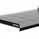 Netrack equipment shelf 19'', 1U/300mm, black, FOR STANDIDING SERVER CABINET