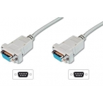 Digitus Modem connection cable, D-Sub9, 3,0m AK-610100-030-E