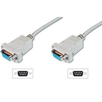 Digitus Modem connection cable, D-Sub9, 3,0m AK-610100-030-E