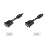 DVI connection cable, DVI(24+1)/M - DVI(24+1)/M 3m