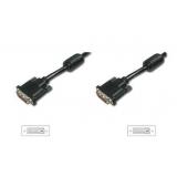 DVI connection cable, DVI(24+1)/M - DVI(24+1)/M 3m