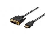 Adapter cable HDMI A /DVI-D M/M 2.0 m black premium