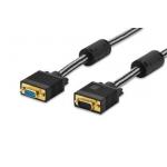 Extension cable DSUB15 /DSUB15 M/F 1,8 m black premium