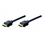 Digitus HDMI Highspeed Ethernet Type A M/M 1m