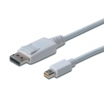Digitus Cable DisplayPort 1.1a, mini DP - DP, M/M