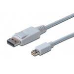 Digitus Cable DisplayPort 1.1a, mini DP - DP, M/M
