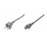 Power cord Schucko/IEC C5 M/F 0,75m