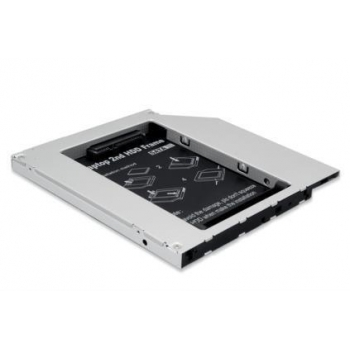 Caddy Digitus SSD/HDD Installation Frame to CD/DVD/Blu-ray, SATA to IDE, 12,7mm