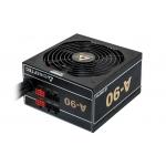 Sursa Modulara Chieftec A-90 750W 2x PCI-E 8x SATA 3x Molex 1x Floppy PFC Activ UVP, OVP, SCP, OPP, OCP, OTP, AFC Certificare 80+ Gold GDP-750C