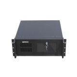 Gembird 19'' Rack-mount server chassis (4U), black