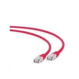 Gembird patchcord RJ45, cat. 6A,FTP, LSZH, 1m, red