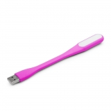 Gembird notebook USB LED light pink
