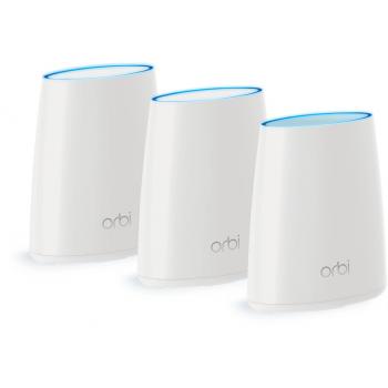 Netgear ORBI 4PT AC3000 ROUTER First Tri-band WiFi System + 2Satell BNDL (RBK53)