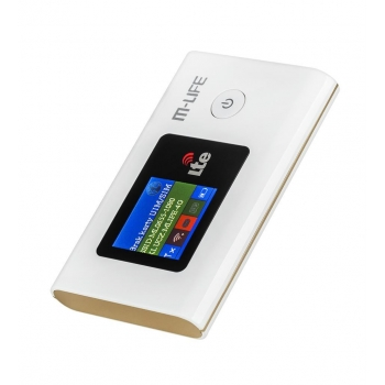 4G LTE MODEM/ROUTER M-LIFE MIFI up to 50 Mbp